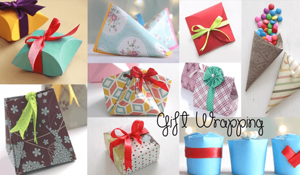Gift Wrapping Ideas With Feel Happy Hours