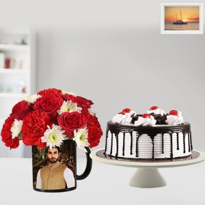 Flower With Blackforest