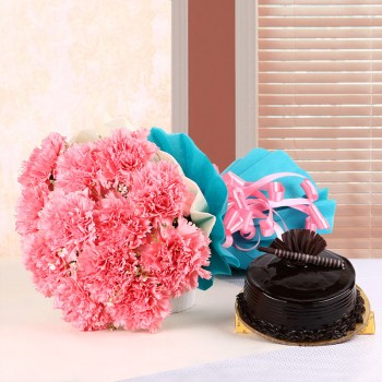 Chocolicious Pink Carnations