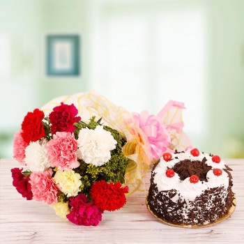 Mix Carnations with Forest