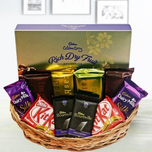 Basket With Full of Chocolate