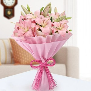 Meritorious Pink Lilies